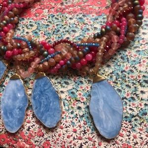 Anthropologie Jewelry - NWT Anthropologie Stone Beads Necklace